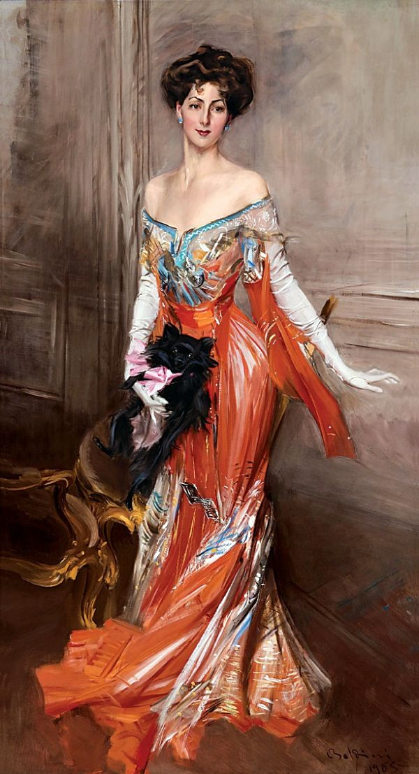 11 Royal Style. A History of Aristocratic Fashion Icons 2 Giovanni Boldini 1845–1931. Shows Elizabeth Wharton Drexel 1905